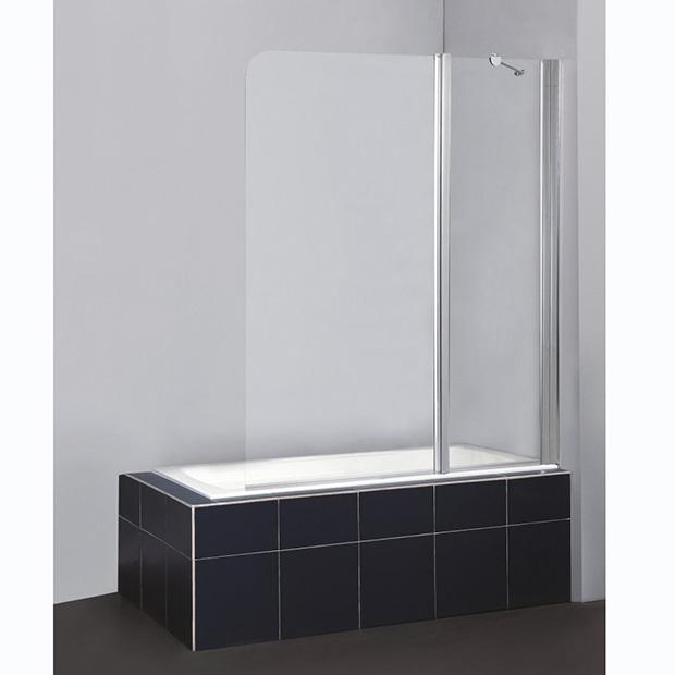 Шторка для ванны BelBagno Sela V-11-120/140-Ch-Cr-R душевая шторка на ванну belbagno sela v 11 120 140 ch cr r стекло chinchilla
