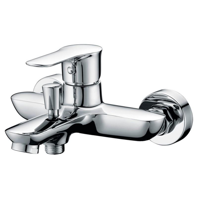 Смеситель Belbagno Reno REN-VASM-CRM для ванны смеситель belbagno reno для ванны и душа хром ren vasm crm