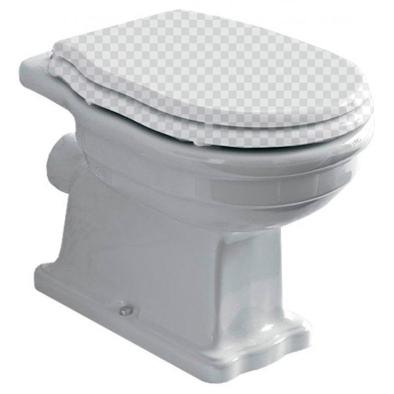 Приставной унитаз BelBagno Boheme BB115CB без сидения приставной унитаз belbagno boheme bb115cb