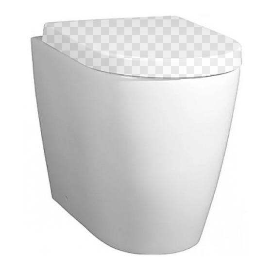 Приставной унитаз BelBagno Marino BB105CBR без сидения приставной унитаз belbagno boheme bb115cb