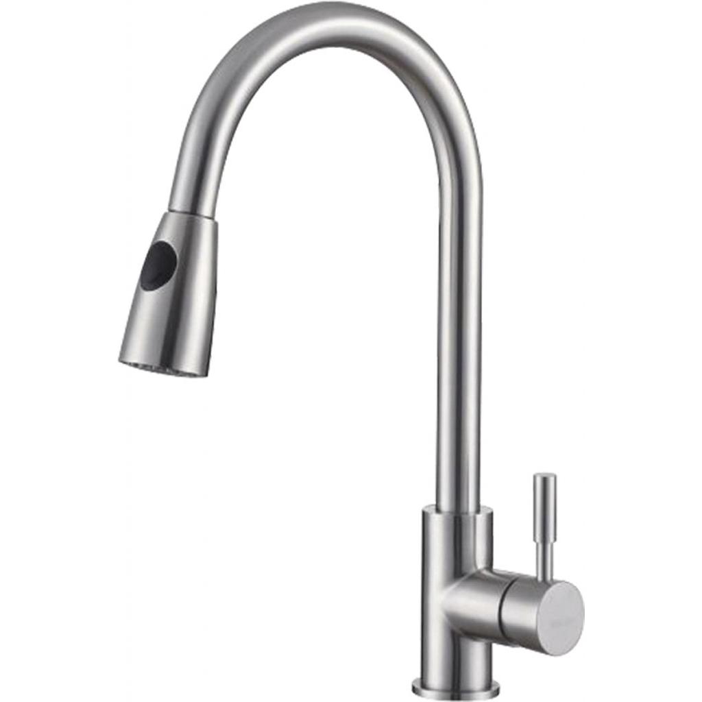Смеситель Belbagno BB-LAM31-IN для кухни смеситель для кухни belbagno с выдвижным изливом нержавеющая сталь сатин bb lam38 in
