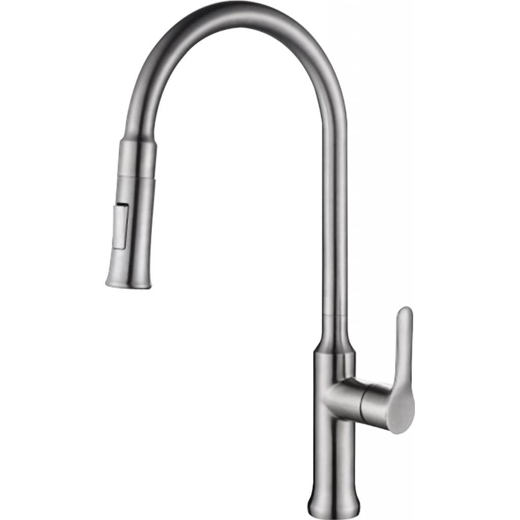 Смеситель BelBagno BB-LAM38-IN для кухни смеситель для кухни belbagno с выдвижным изливом нержавеющая сталь сатин bb lam38 in