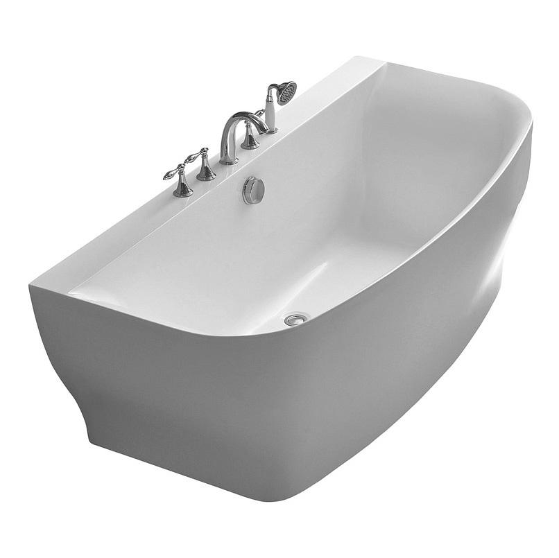 Акриловая ванна Belbagno BB74-1650 акриловая ванна belbagno bb30 1550 155x150