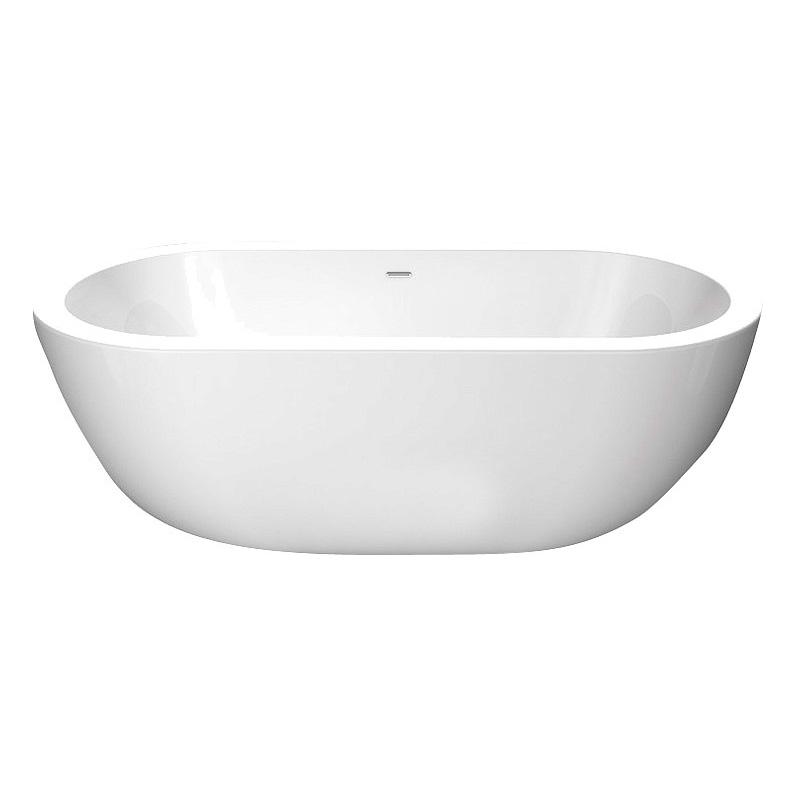 Акриловая ванна BelBagno BB13-1700 акриловая ванна belbagno 180x86x59 см свободностоящая bb13 1800