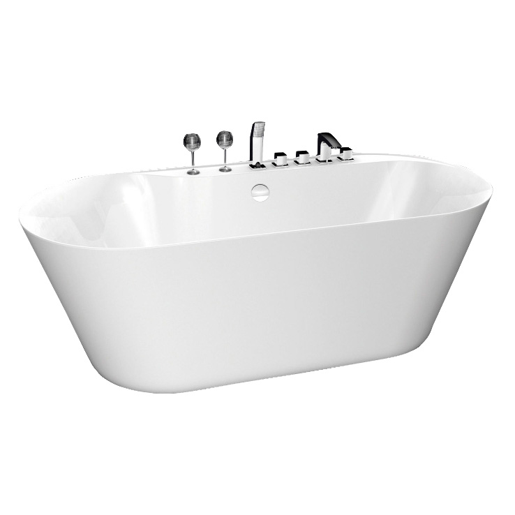 Акриловая ванна BelBagno BB14 акриловая ванна belbagno bb14 nero bia 178x84