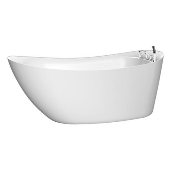 Акриловая ванна BelBagno BB25 акриловая ванна belbagno 170x76x70 см свободностоящая bb25
