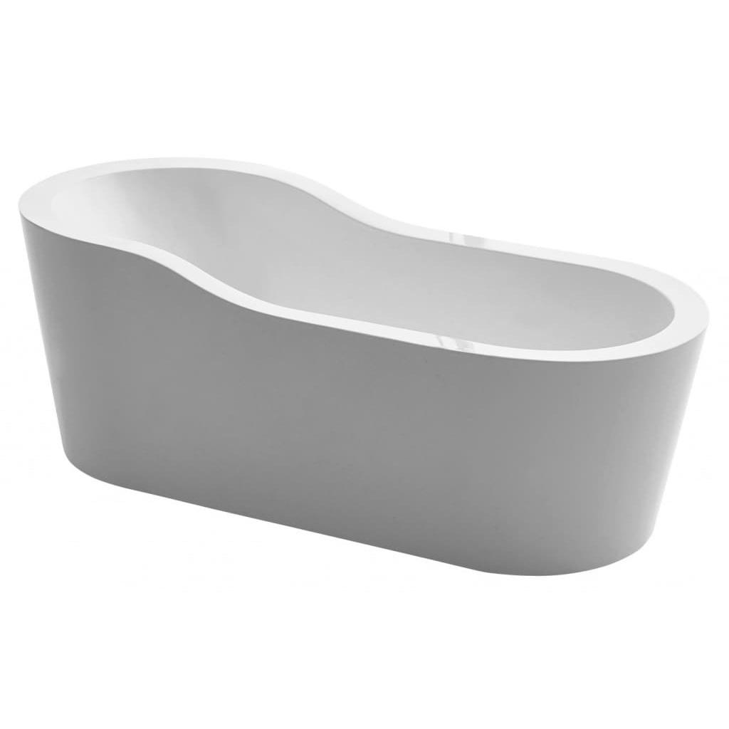 Акриловая ванна Belbagno BB65 акриловая ванна belbagno 170x76x70 см свободностоящая bb25