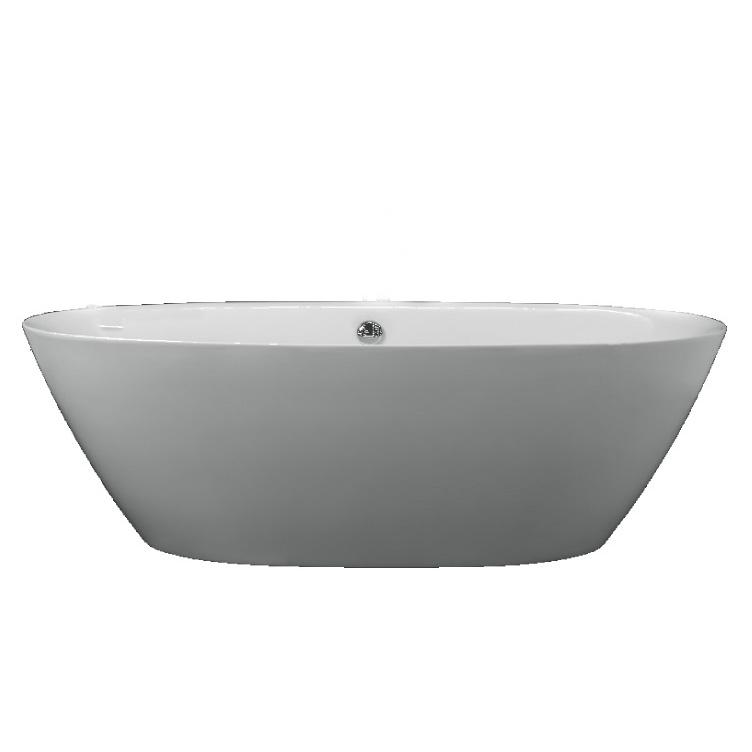 Акриловая ванна Belbagno BB68 акриловая ванна belbagno bb30 1550 155x150