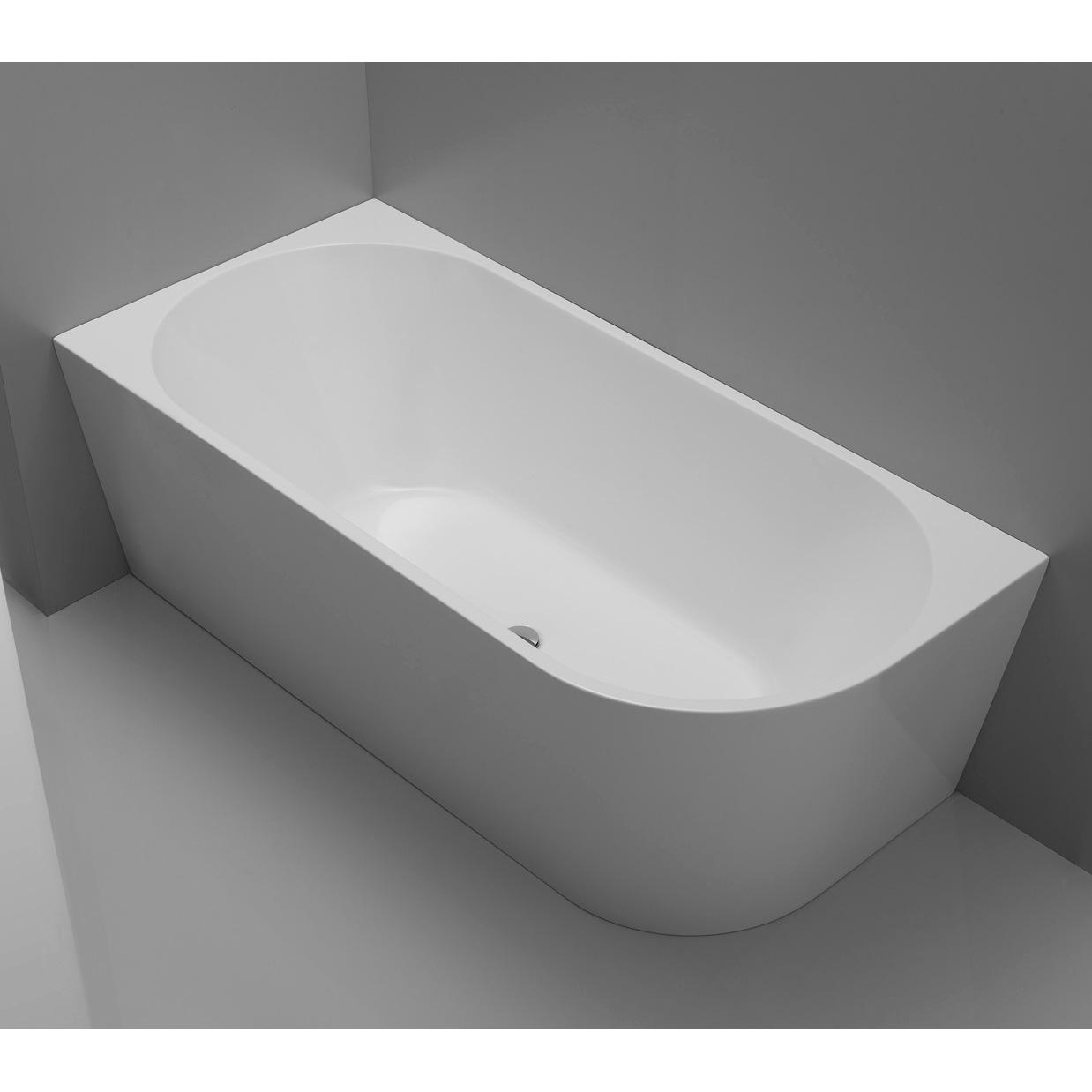 Акриловая ванна Belbagno BB79-1500L умывальник marmite bianca 1500l