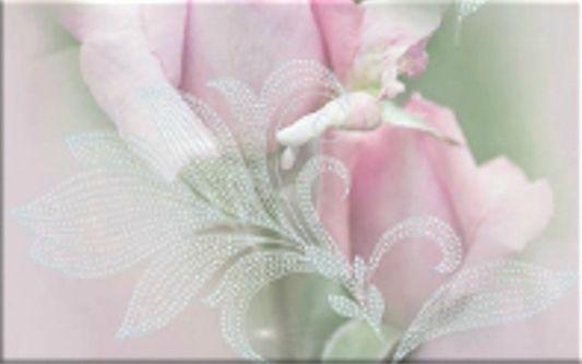 Декор Belleza Розовый свет-2 25x40