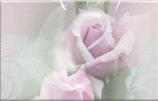 Декор Belleza Розовый свет-1 25x40 цена