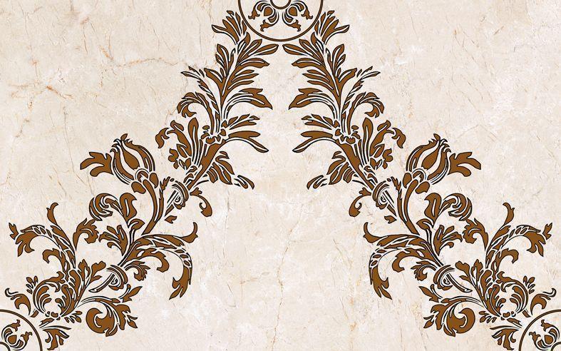 Декор Belleza Калинка коричневый 25x40 optifit belleza mt 27