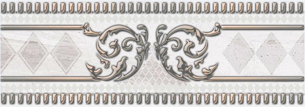 Бордюр Belleza Лаурия серый 7x20 optifit belleza mt 27