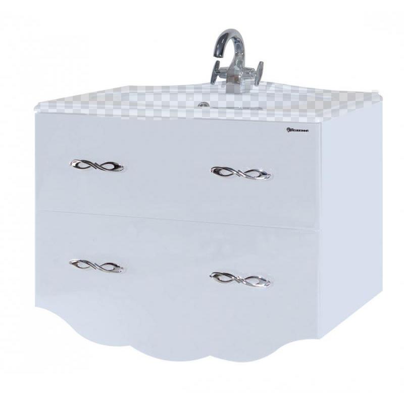Тумба под раковину Bellezza Версаль 90 белый тумба под раковину ideal standard tesi 80х49х44 с 2 мя ящиками белый лак t0051ov