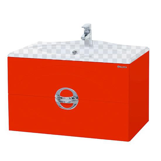 Тумба под раковину Bellezza Флоренция 90 красный тумба под раковину домино уют 60 смайл с 2 ящиками красный dd4070t