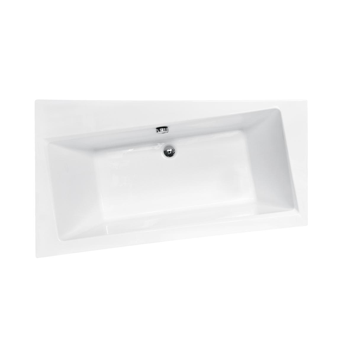 Акриловая ванна Besco Infinity 160x100 L акриловая ванна besco bianka 150x95 l