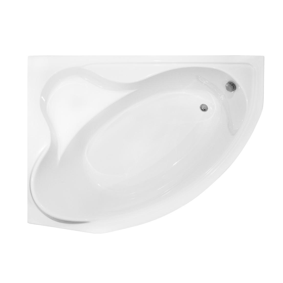 Акриловая ванна Besco Delfina 166x107 L акриловая ванна besco bianka 150x95 l