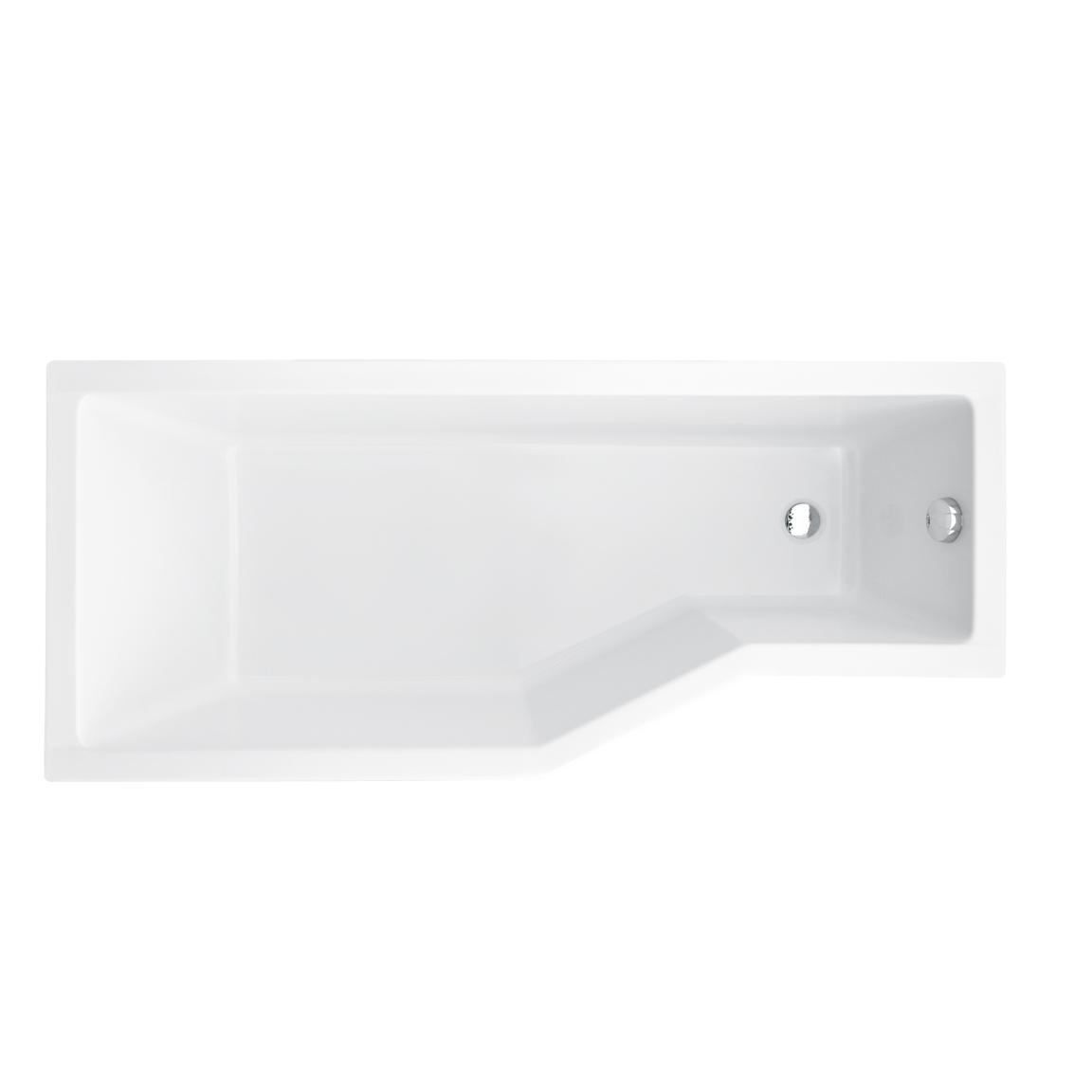 Акриловая ванна Besco Integra 170x75 L акриловая ванна besco bianka 150x95 l