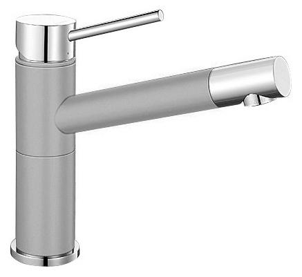Смеситель Blanco Alta Compact 520729 хром/жемчужный для кухни смеситель для кухни blanco tera хром