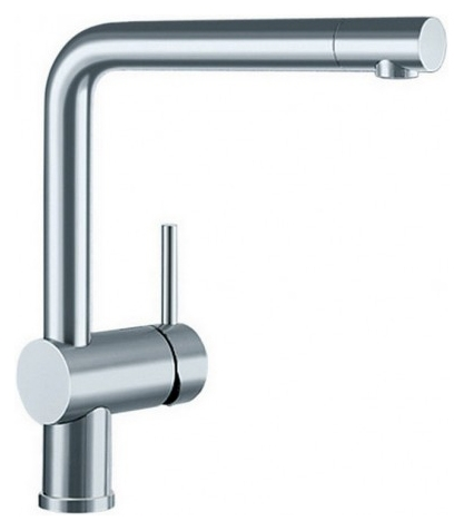 Смеситель Blanco Linus 517183 сталь полированнная для кухни смеситель для кухни blanco linus s рычаг справа нержавеющая сталь