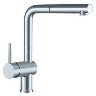 Смеситель Blanco Linus-S 514017 нержавеющая сталь для кухни смеситель для кухни blanco linus s рычаг справа нержавеющая сталь