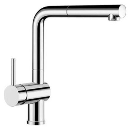 Смеситель Blanco Linus-S 514016 хром для кухни смеситель для кухни blanco linus s рычаг справа нержавеющая сталь
