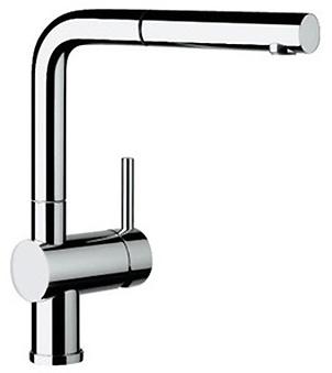 Смеситель Blanco Linus-S 512402 хром для кухни смеситель для кухни blanco linus s рычаг справа нержавеющая сталь