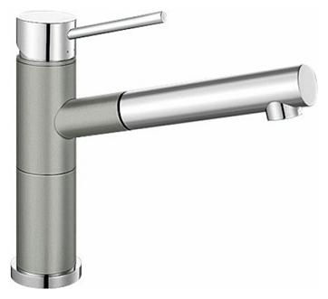 Смеситель Blanco Alta-S Compact 520730 хром/жемчужный для кухни смеситель для кухни blanco tera хром