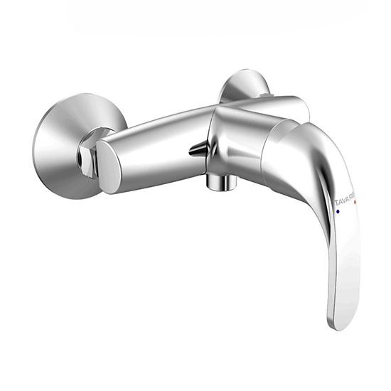 Смеситель Bravat Fit F9135188CP-01 для душа смеситель для душа коллекция drop d f948162c 01 однорычажный хром bravat брават