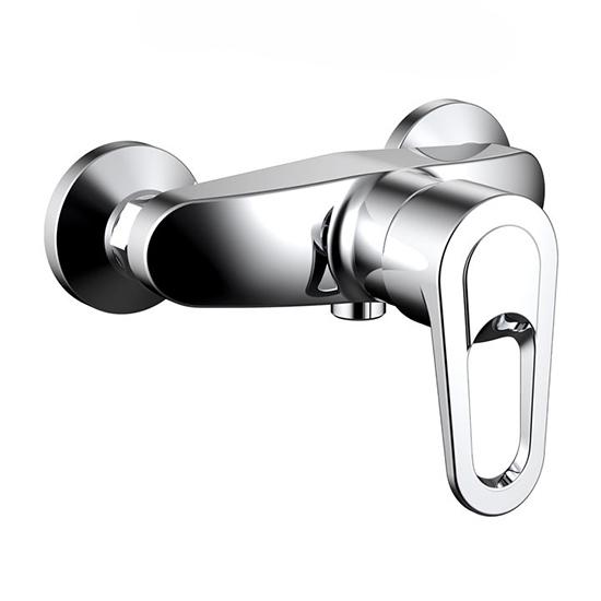 Смеситель Bravat Loop F9124182CP-01 для душа смеситель для душа коллекция drop d f948162c 01 однорычажный хром bravat брават