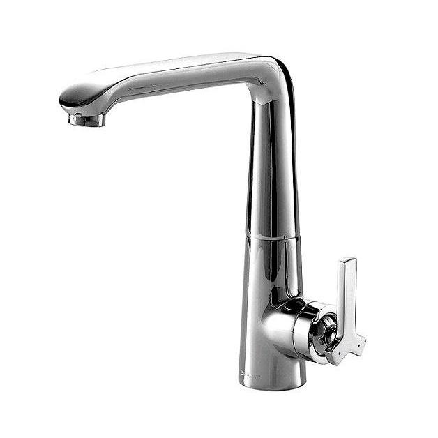 Смеситель Bravat Waterfall F773107C для кухни