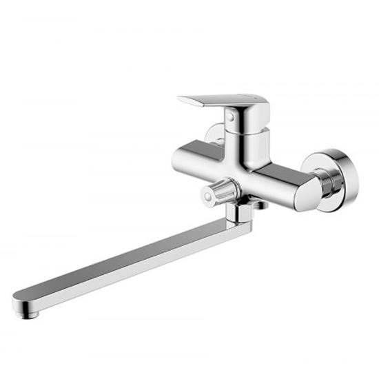 Смеситель Bravat Real F6121179CP-01L для ванны смеситель для ванны коллекция line f65299c 1l однорычажный хром bravat брават