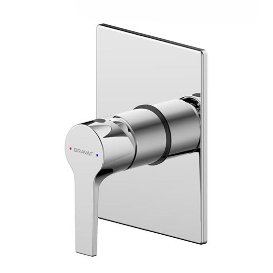 Смеситель Bravat Prolate D999CP+PB85179C-A для душа смеситель для душа встраиваемый esko tallin tl83 скрытая часть в комплекте