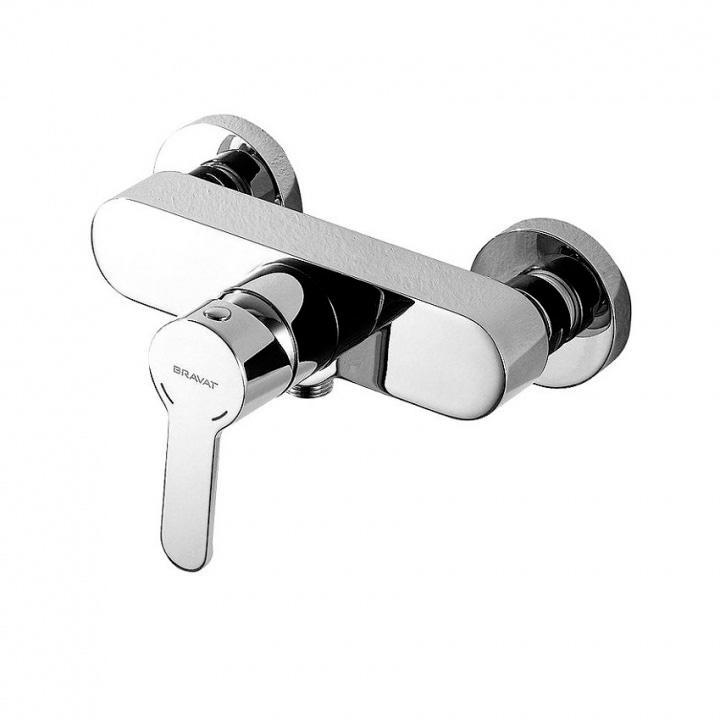 Смеситель Bravat Stream F93783C 01A для душа смеситель для душа коллекция eco f9111147c 01 однорычажный хром bravat брават