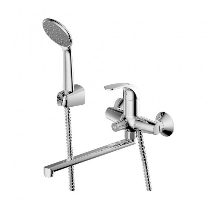 Смеситель Bravat Fit 7F6135188CP LB RUS для ванны картридж cubex abs бежевый