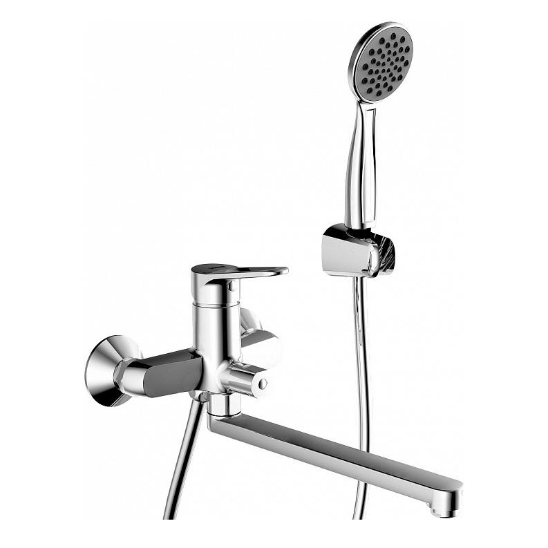 Смеситель Bravat Eco F693147C LB для ванны смеситель для ванны коллекция simple f6135193cp lb однорычажный хром bravat брават
