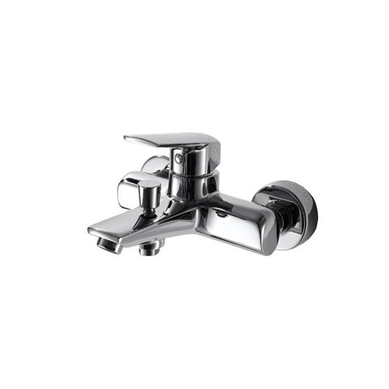 Смеситель Bravat Real F6121179CP-01 для ванны смеcитель для умывальника argo fenix 2504l с коротким изливом однорычажный хром черный