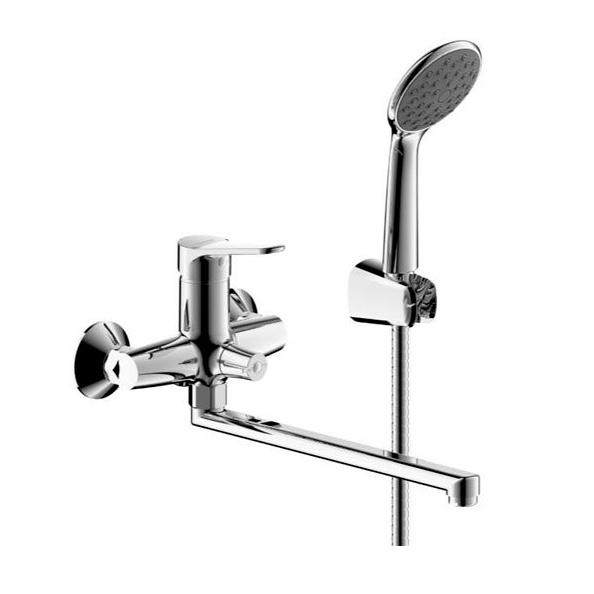Смеситель Bravat Slim TF6135147CP-LB-RUS для ванны смеситель для ванной cron cn2201 хром