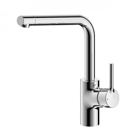 Смеситель Bravat Palace F7172217CP-1 для кухни шкаф торцевой с зеркальной дверью лючия