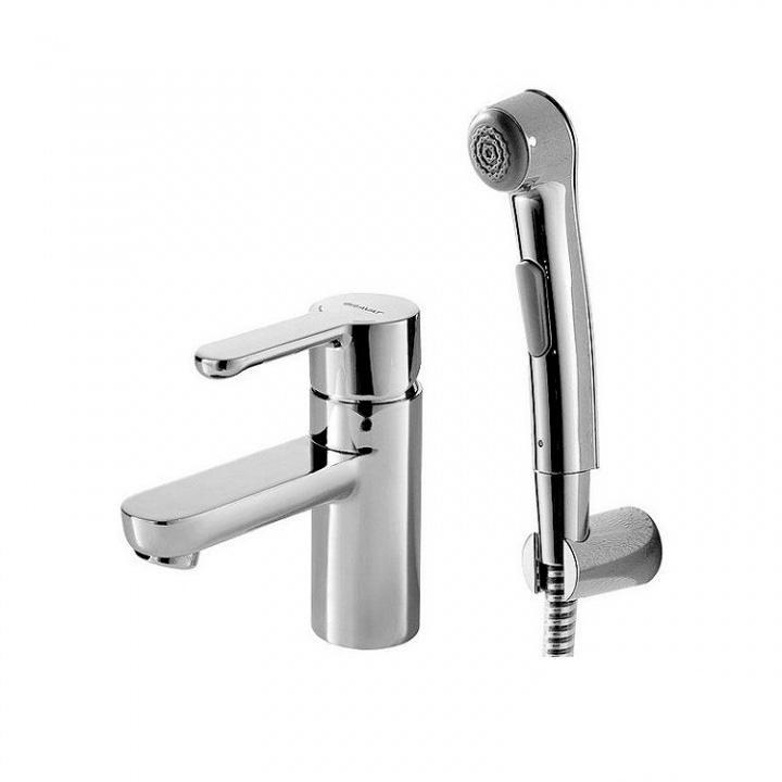 Смеситель Bravat Stream F13783C 3 для раковины смеситель для раковины с гигиеническим душем bravat drop d f148162c 1