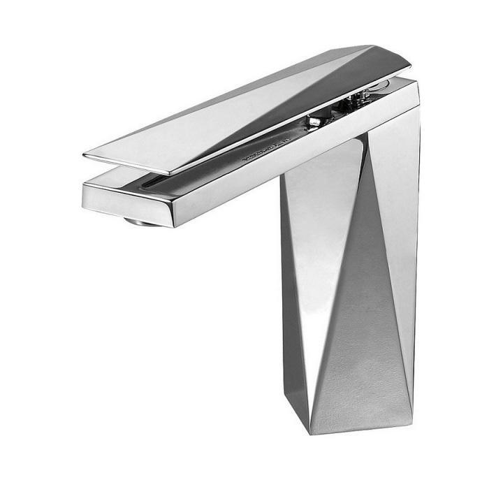 Смеситель Bravat Diamond F118102C 2 для раковины смеситель для мойки 201 высокий однорычажный серый polygran полигран