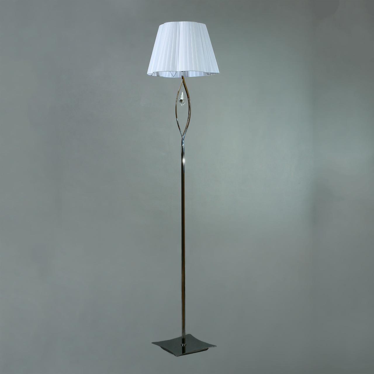 Торшер Brizzi BL 03203/1 Chrome brizzi настольная лампа brizzi bt 03203 1 chrome