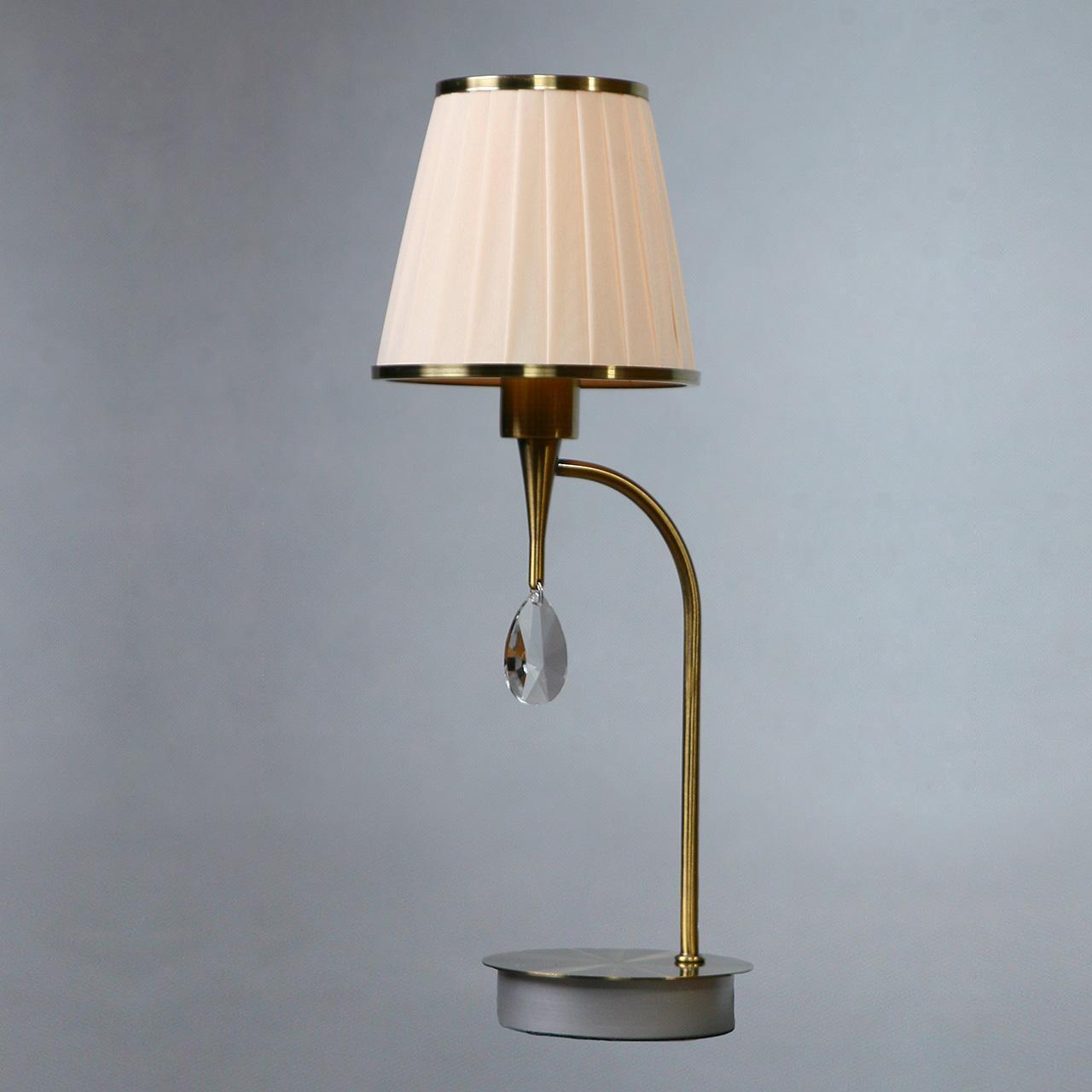Настольная лампа Brizzi Alora MA 01625T/001 Bronze Cream недорго, оригинальная цена