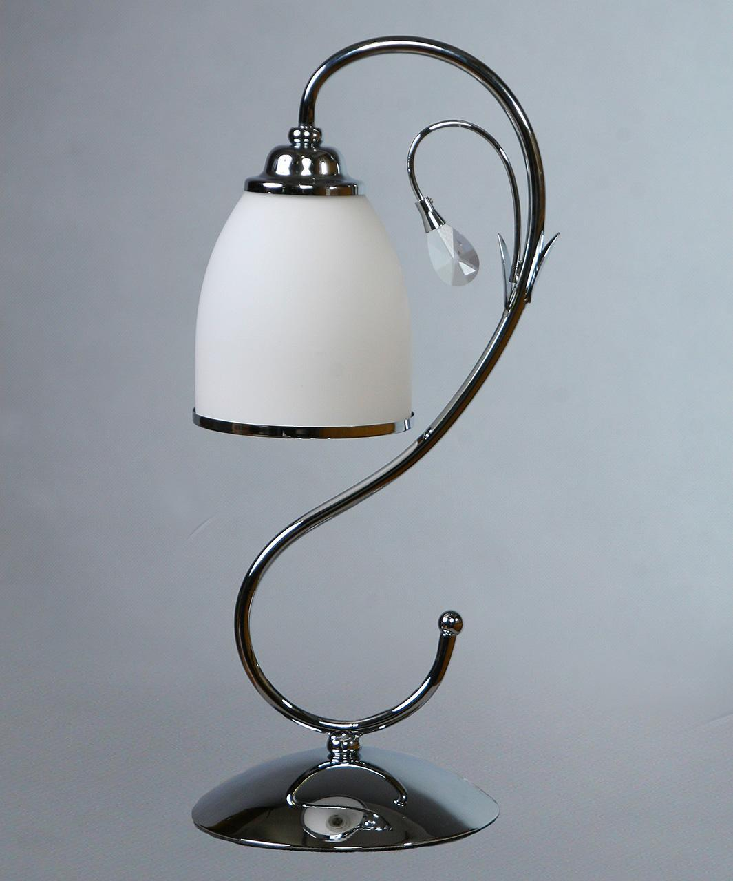 Настольная лампа Brizzi Tarragona MA 02640Т/001 Chrome недорго, оригинальная цена