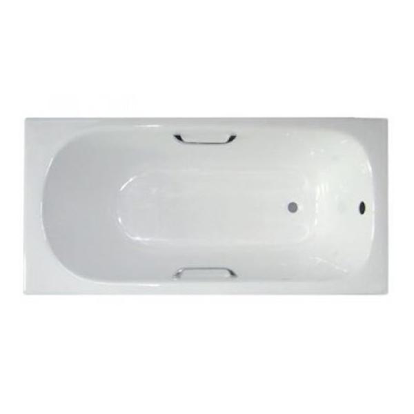 Чугунная ванна Byon B13 150х70 с ручками аккумуляторная воздуходувка greenworks 60v gd60ab 4 0ah x1 2401307ub