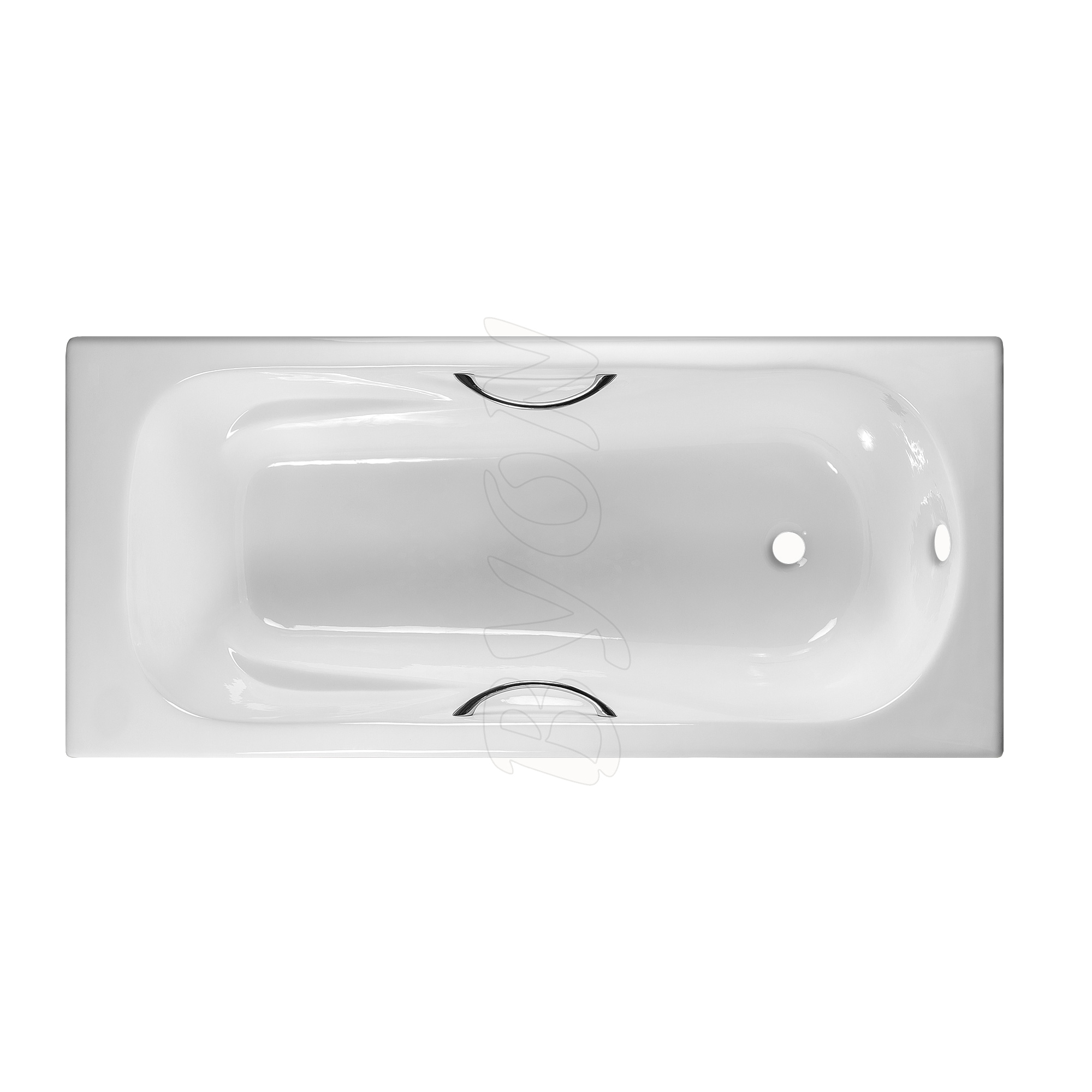 Чугунная ванна Byon B15 170х75 с ручками чугунная ванна byon b13 150х70 с ручками