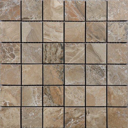 Фото - Мозаика Ceracasa Dolomite Mosaico Noce (5х5) 30х30 керамогранит 30х30 land coal черный