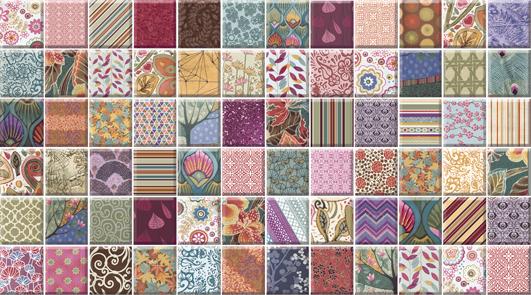 Dec Mozaic Random Декор КВС16MozaicRandom 25х45 random cartoon ceramic tile decal 1pc