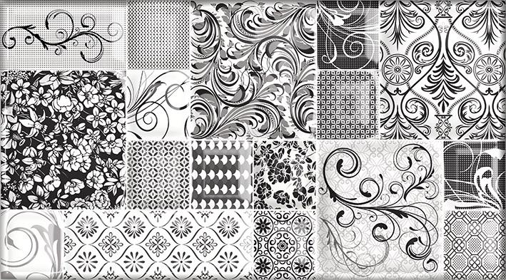 Dec Mosaic Pulsar Декор КВС16Pulsar 25х45 декор ceradim stones dec 1 25х45
