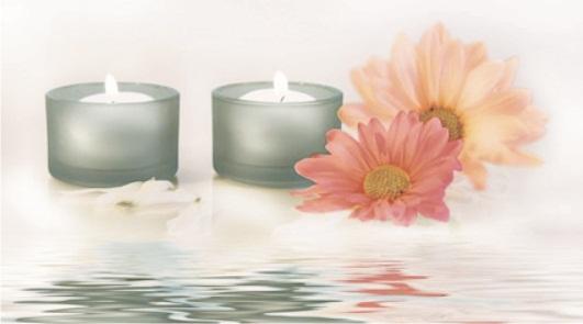Candles 4 Декор 25х45 stones 3 декор 25х45